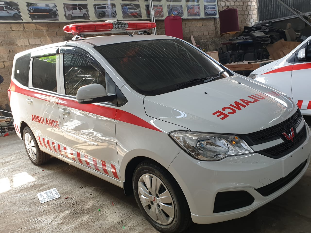 makna sirine ambulance