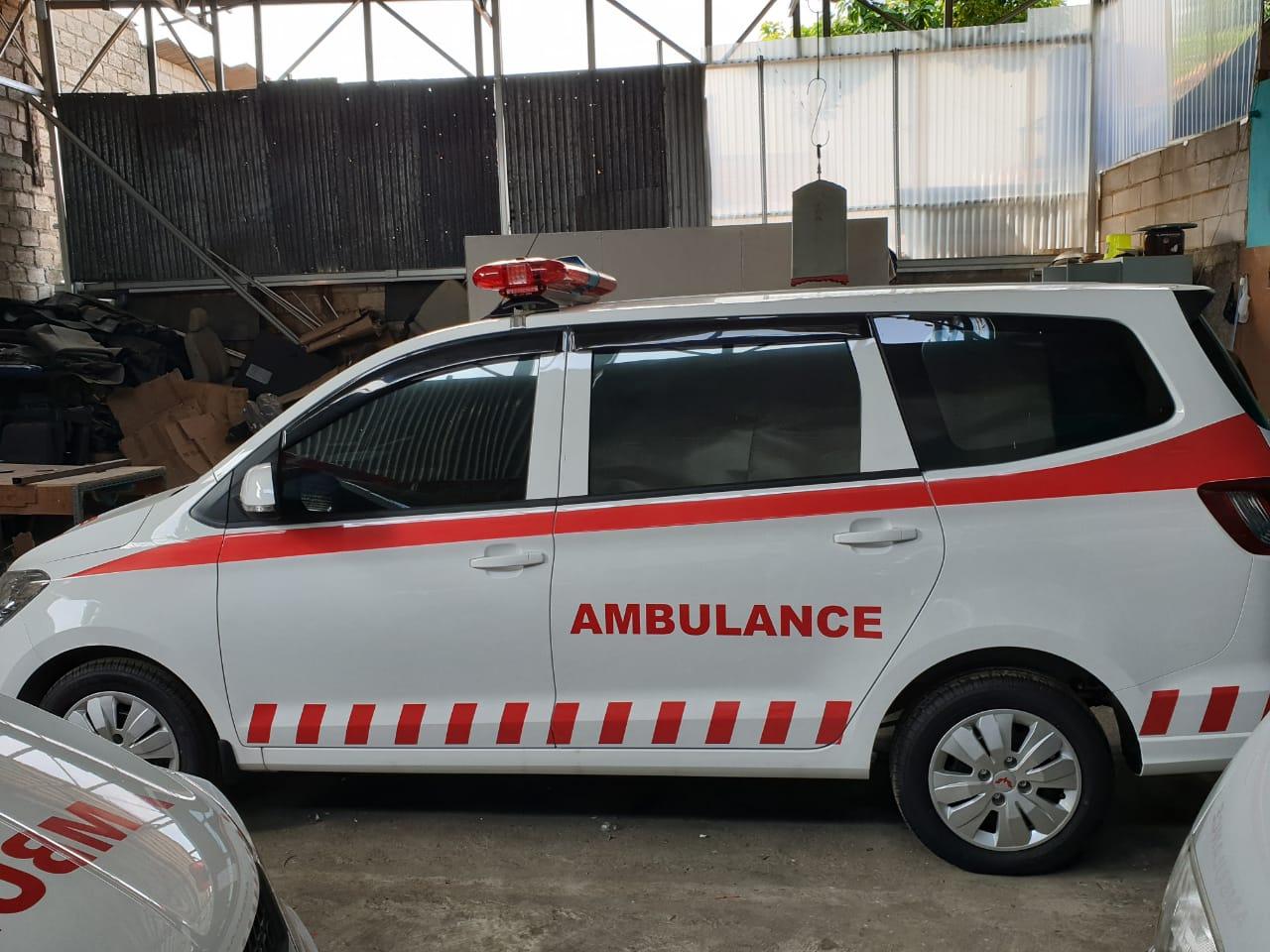 proses pembuatan ambulance tercepat